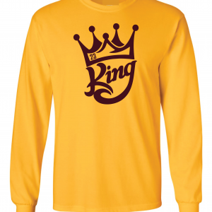 King James 23, Gold, Long-Sleeved