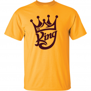 King James 23, Gold, T-Shirt