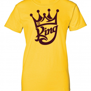 King James 23, Gold, Women's Cut T-Shirt