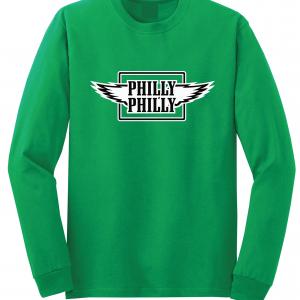 Philly Philly - Philadelphia Eagles, Green, Long-Sleeved