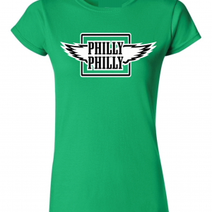 Philly Philly - Philadelphia Eagles, Green, Women's Cut T-Shirt