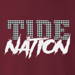 Tide Nation - Alabama, Hoodie, Long-Sleeved, T-Shirt, Crew Sweatshirt, Women's Cut T-Shirt