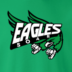 Eagles Soar - Philadelphia, Hoodie, Long-Sleeved, T-Shirt, Crew Sweatshirt, Women's Cut T-Shirt
