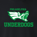 Philadelphia Underdogs - Eagles, Hoodie, Long-Sleeved, T-Shirt, Crew Sweatshirt, Women's Cut T-Shirt