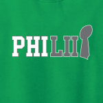 PhiLII - Philadelphia Eagles - Superbowl LII, Hoodie, Long-Sleeved, T-Shirt, Crew Sweatshirt, Women's Cut T-Shirt