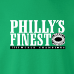Philly's Finest - Philadelphia, Hoodie, Long-Sleeved, T-Shirt, Crew Sweatshirt, Women's Cut T-Shirt