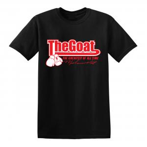 GOAT Muhammad Ali, Black, T-Shirt