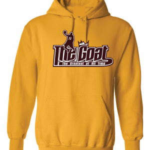 GOAT Lebron James, Gold, Hoodie