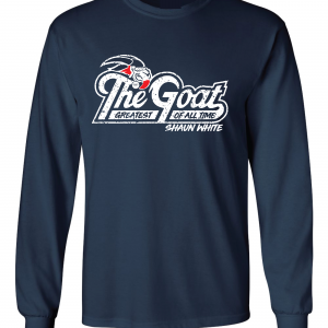 GOAT Shaun White, Navy, Long-Sleeved