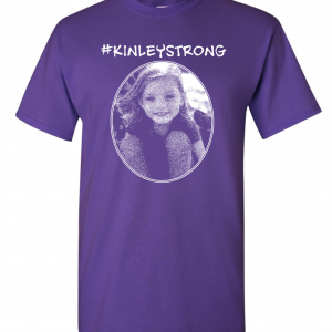 Kinley Strong T-Shirt, Purple, Front