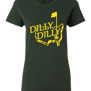 Dilly Dilly Masters - Green, Gold, Women's Cut T-Shirt
