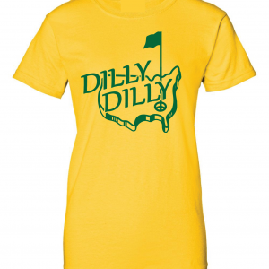 Dilly Dilly Masters - Golf, Gold, Women's Cut T-Shirt
