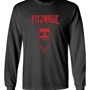 Fitzmagic Face, Black, Long-Sleeved