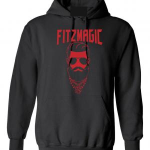 Fitzmagic Face, Black, Hoodie