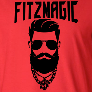 Fitzmagic Face, Hoodie, Long-Sleeved, T-Shirt, Crew Sweatshirt, Women's Cut T-Shirt