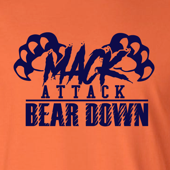 reputable site 7abcb 4bd34 Mack Attack Bear Down Shirt