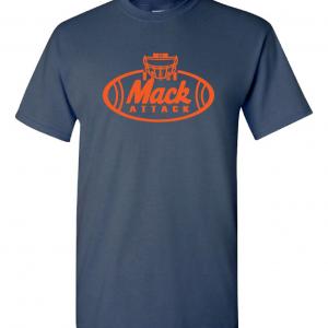 Mack Attack Football, Navy, T-Shirt