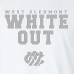 West Clermont Youth White Out, Hoodie, Long-Sleeved, T-Shirt, Dri-Fit, Crew Sweatshirt, Women's Cut T-Shirt