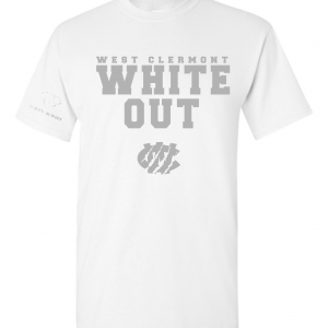 West Clermont Youth White Out, White, T-Shirt