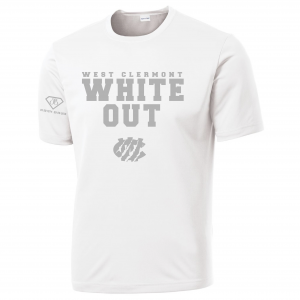 West Clermont Youth White Out, White, Dri-Fit