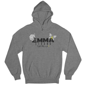 Emma Strong Graphite Heather Hoodie