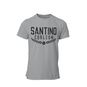 Santino Corleon Sport Grey T-Shirt with black lettering